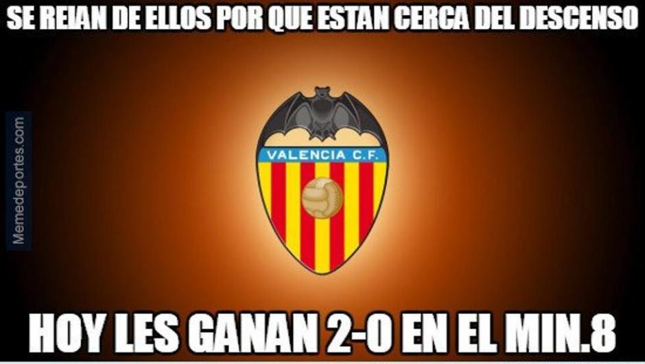 El Valencia sacó el orgullo y algo más. (Foto: Twitter)