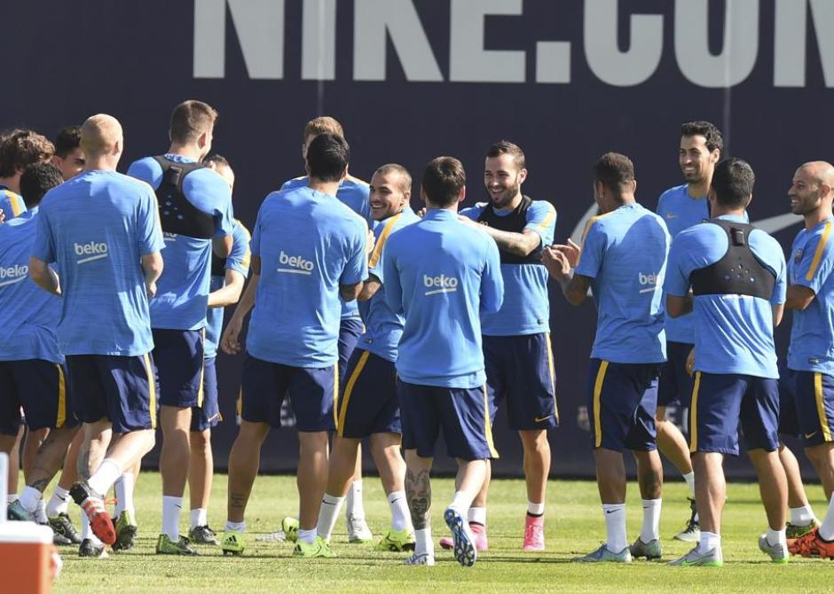 barcelona recibe a la palmas  foto