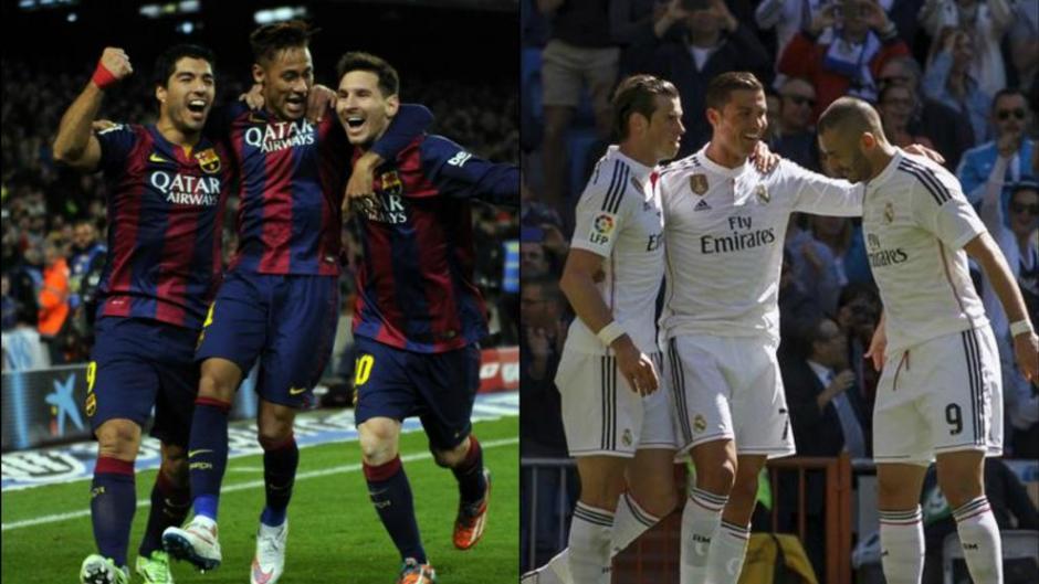 La lucha entre Barça y Madrid también se libra en las redes sociales. (Foto: Captura de pantalla)