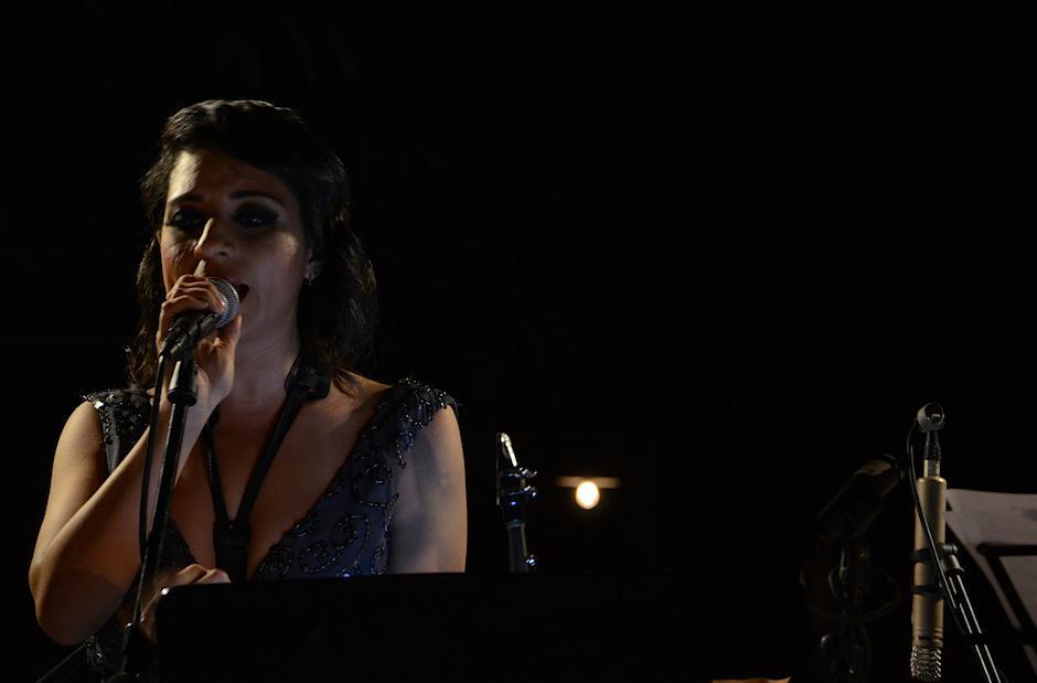 Rosse Aguilar deleitó a todos con su talento. (Foto: Selene Mejía/Soy502)