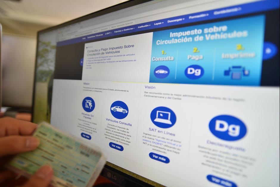 El proceso se puede efectuar en línea para evitar largas filas. (Foto: Archivo/Soy502)