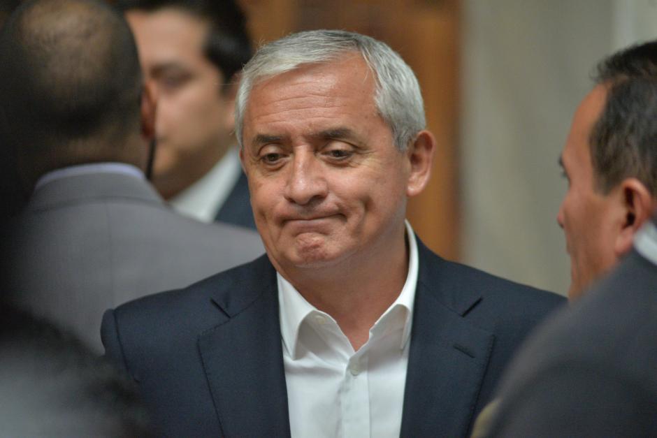 Pérez Molina recibió de regalo el lujoso vehículo en 2012. (Foto: Wilder López/Soy502)
