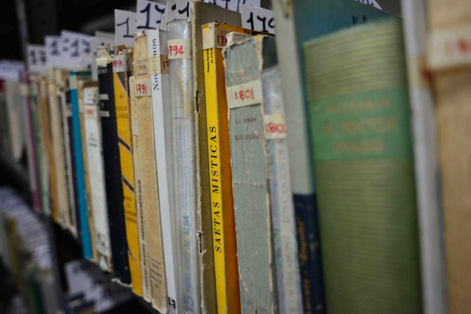 Los libros de sus bisabuelos y abuelos estará abierta al público. (Foto: Jesús Alfonso/Soy502)