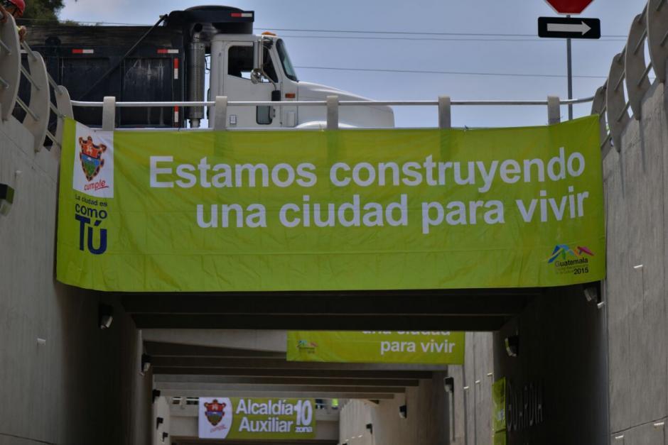 La obra fue elaborada por la Municipalidad Capitalina. (Foto: Wilder López/Soy502)