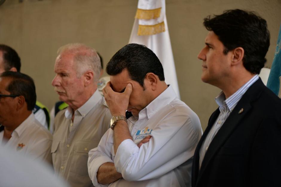 Jimmy Morales, presidente de Guatemala, asistió a la inauguración. (Foto: Wilder López/Soy502)