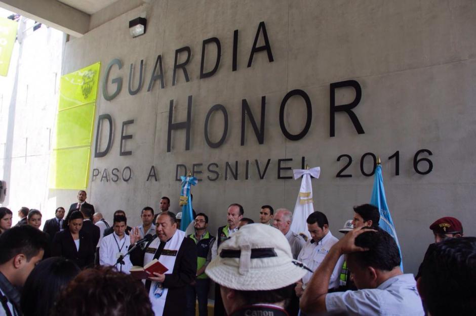 El nuevo paso a desnivel estará disponible a partir de este miércoles. (Foto: Wilder López/Soy502)