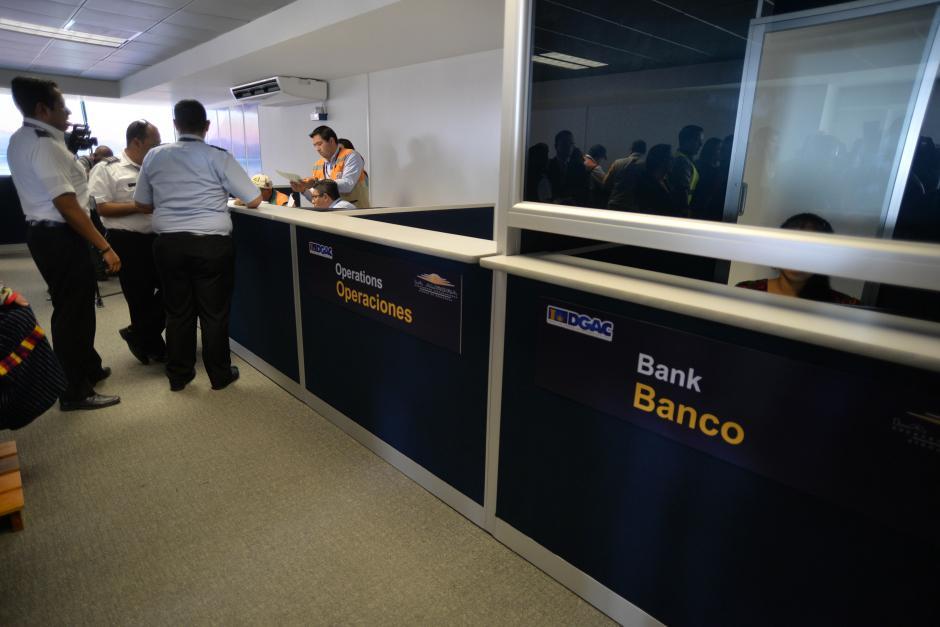 Las instalaciones fueron adecuadas para recibir a los pilotos. (Foto: Wilder López/Soy502)