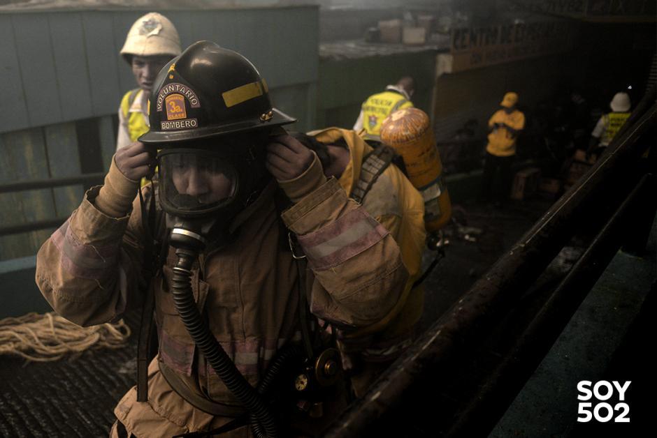 Un equipo de estos cuesta Q125 mil y en los bomberos Voluntarios tienen muy pocos. (Foto: Jesus Alfonso/Soy502)
