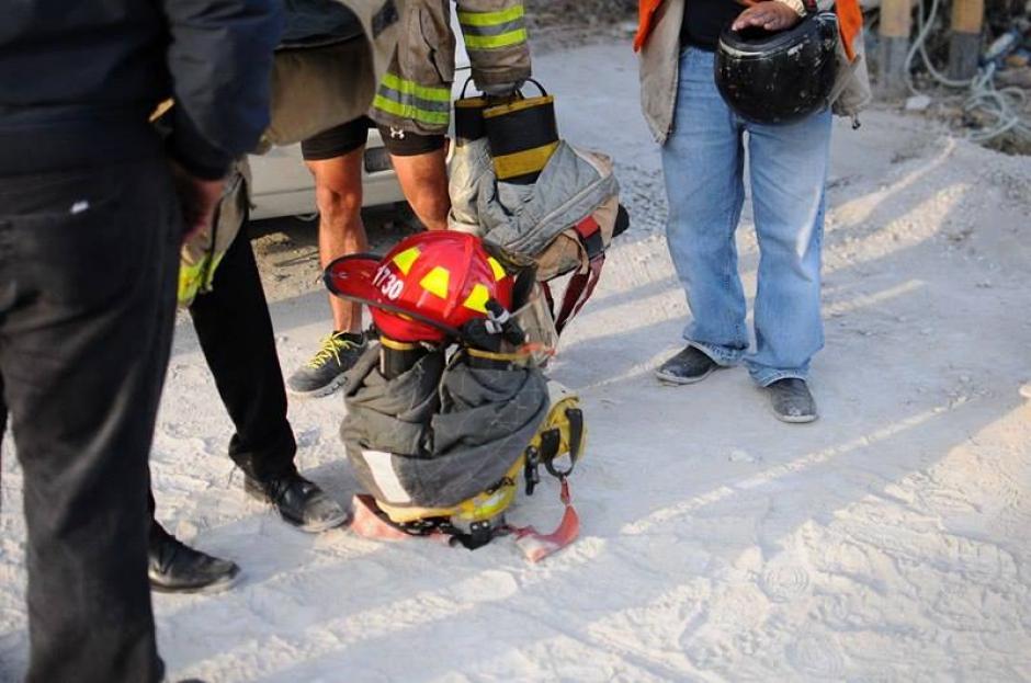 El equipo que utilizan los cuerpos de socorro para atender emergencias. (Foto: Alejandro Balan/Soy502)