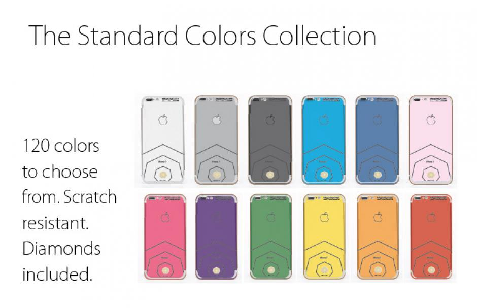 Se pueden seleccionar hasta 120 colores con diamantes incrustados. (Foto: Brikk)