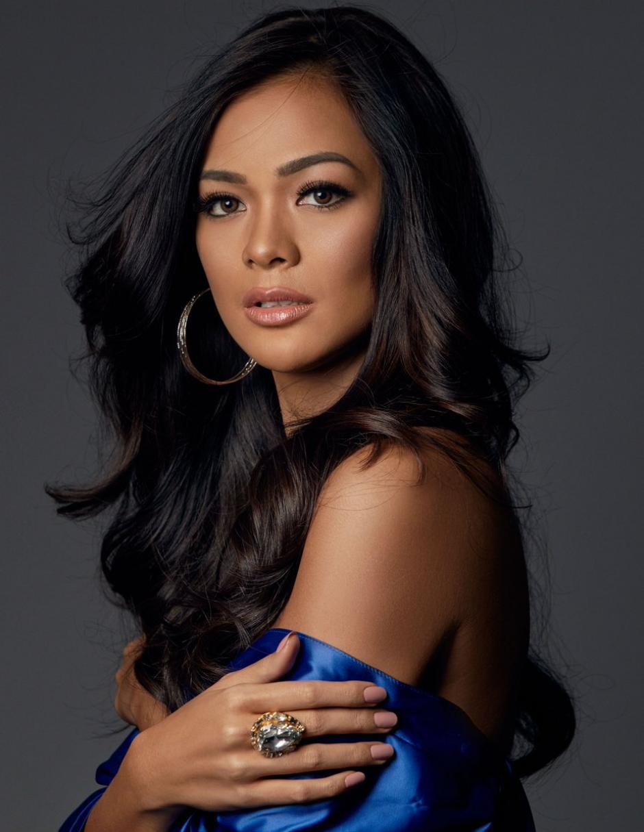 Kezia Warouw fue la representante de Indonesia. (Foto: Twitter/Miss Universe)