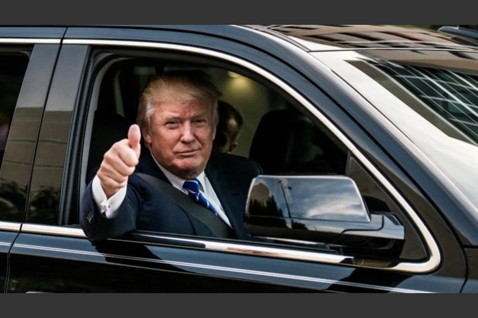 El nuevo presidente de Estados Unidos es amante de los carros de lujo. (Foto: Infobae)