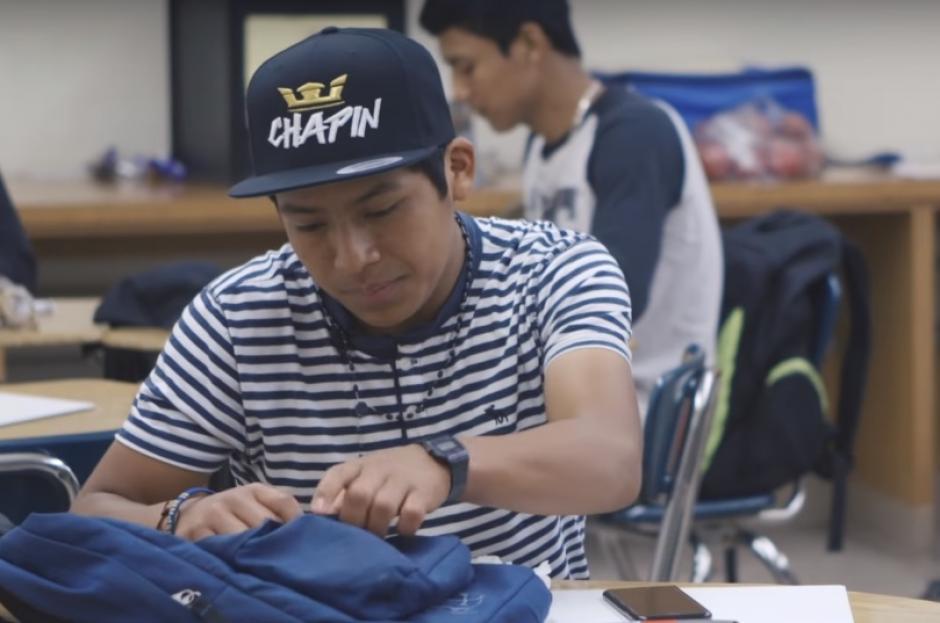Por ahora, Gaspar Marcos no deja de trabajar y aunque reciba apoyo sabe que no hay nada como ganar su propio dinero. (Foto: Captura de video)