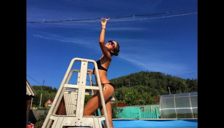 La bella Ekaterina Kostjunina conquista con su belleza y sensualidad. (Foto: Instagram)