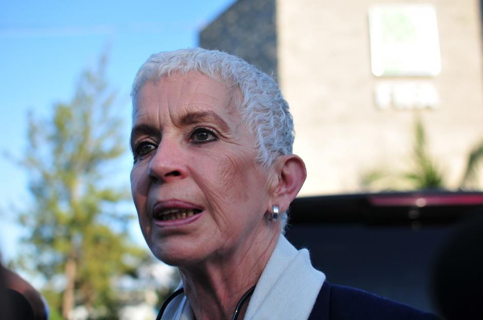 Adela de Torrebiarte está en el octavo puesto y ha resaltado por sus diversas participaciones en la política guatemalteca.(Foto: Archivo/Soy502)