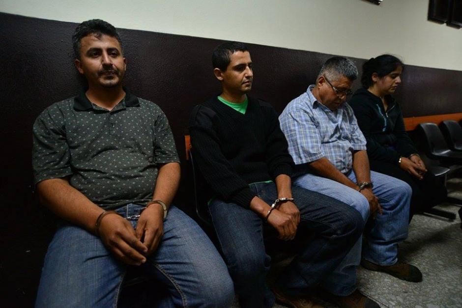 A los detenidos se les sindica el delito de lavado de dinero y asociaciones ilícitas. (Foto: Wilder López/Soy502)