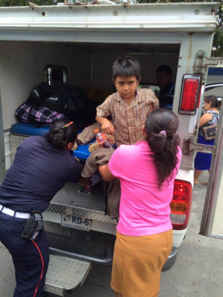 Los afectados fueron llevados hacia el Hospital Nacional de San Marcos. (Foto: Bomberos Municipales Departamentales)