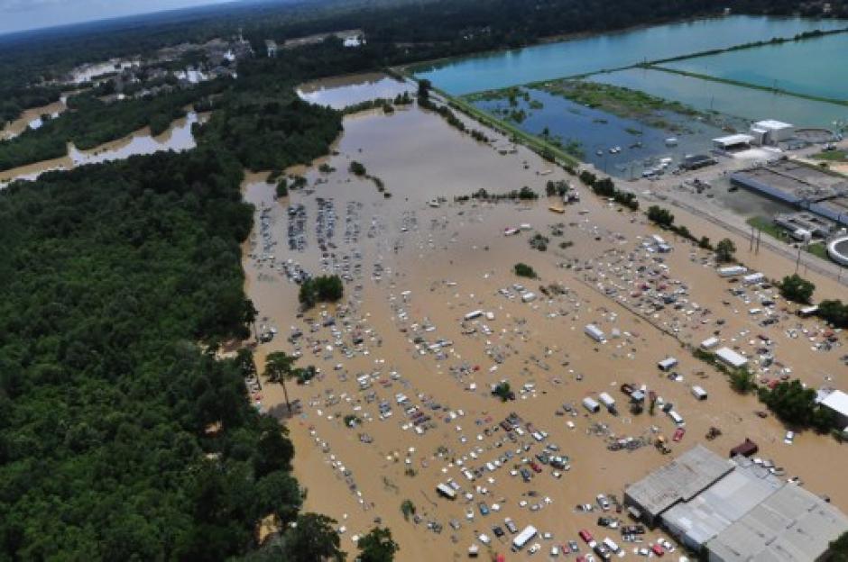 El nivel de los ríos podría continuar alto hasta el próximo miércoles. (Foto: AFP)