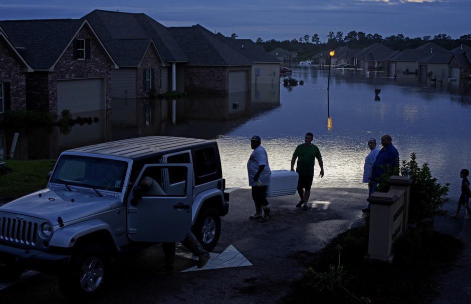 Algunos lugares han tenido que ser evacuados ante la emergencia. (Foto: npr.org)