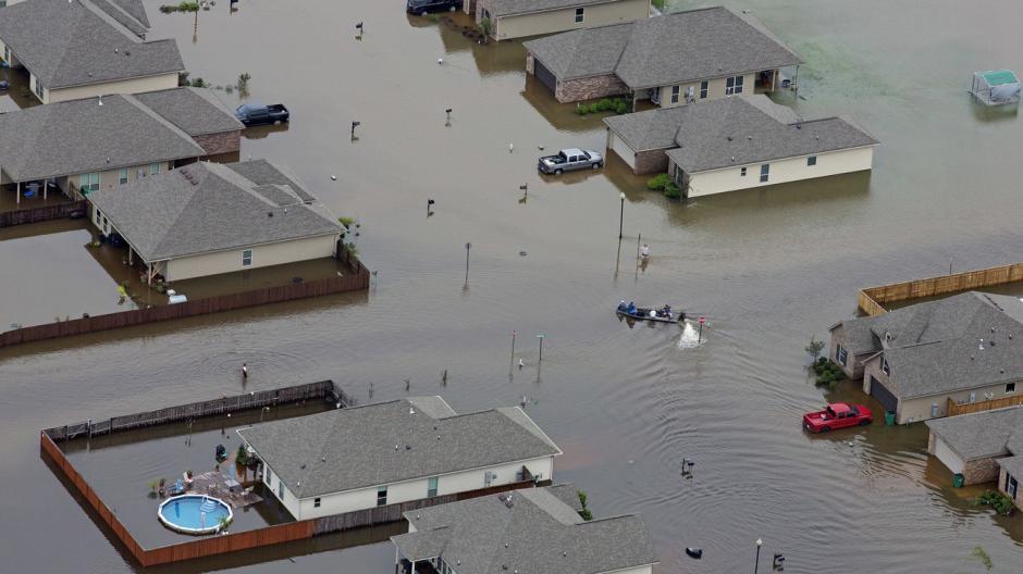 Las calles de Louisiana se ven inundadas. (Foto: npr.org)