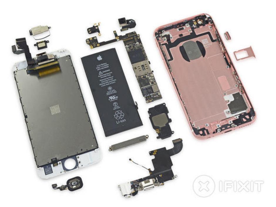 Al abrir los dispositivos de Apple se pueden comparar con otros modelos. (Foto:iFixit)