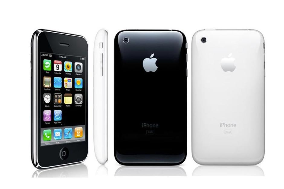 El iPhone 3G fue el segundo dispositivo de Apple a un precio accesible con una parte trasera de plástico, pero también ganó la conectividad 3G, GPS, aplicaciones de terceros, y un modelo blanco para elegir. Su parte trasera redonda completó el look y el botón se mantuvo igual. (Foto: The Verge)