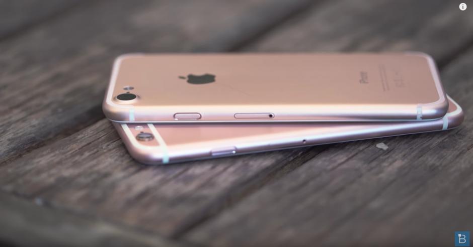 Así podría ser el nuevo iPhone 7. (Captura de pantalla: TechnoBuffalo/ YouTube)