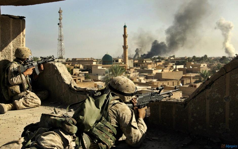 El 12% de los soldados de Estados Unidos que pelearon en Irak eran latinos. (Foto: urgente24.com)