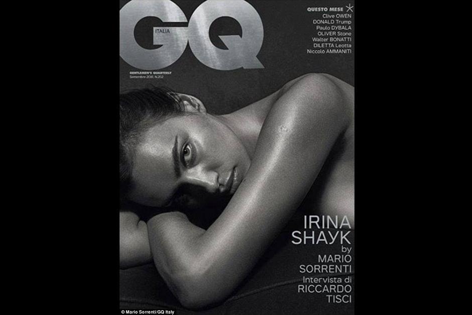 La modelo rusa ha protagonizado una sensual portada para la revista GQ Italia. (Foto: GQ)