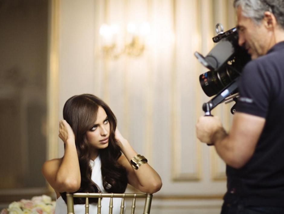 Irina durante una campaña de Loreal. (Foto: Irina Shayk)