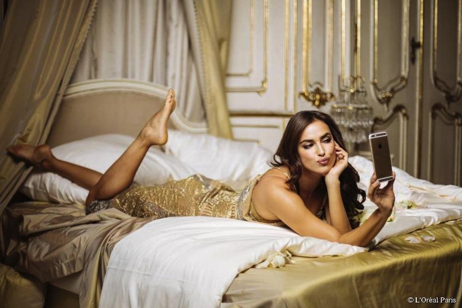 La super modelo Irina Shayk, ex novia del astro CR7 es el nuevo rostor de L'Oréal Paris. (Foto: Loreal Paris)