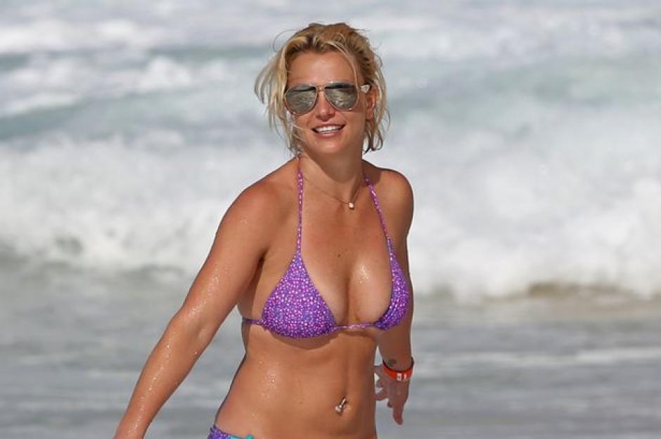 Britney ha recuperado su forma física luego de mucho tiempo. (Foto: irishmirror.ie)