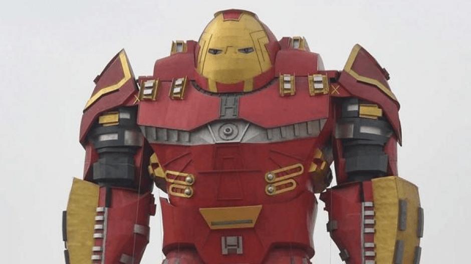 El Iron Man de 30 metros en China. (Foto: Código Espagueti)