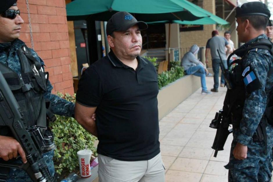 El exesposo de Sandoval, Irvin Aguilar fue detenido este jueves. (Foto: PNC)