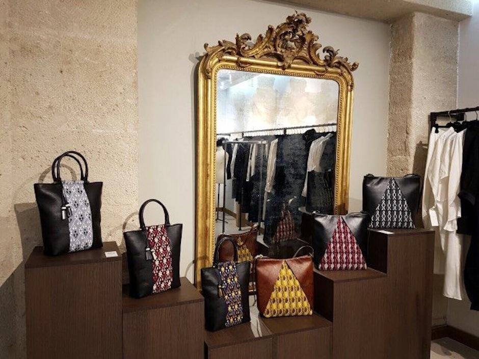 La marca guatemalteca 'Is Bags se presenta en la Semana de la Moda de París. (Foto: 'Is Bags)
