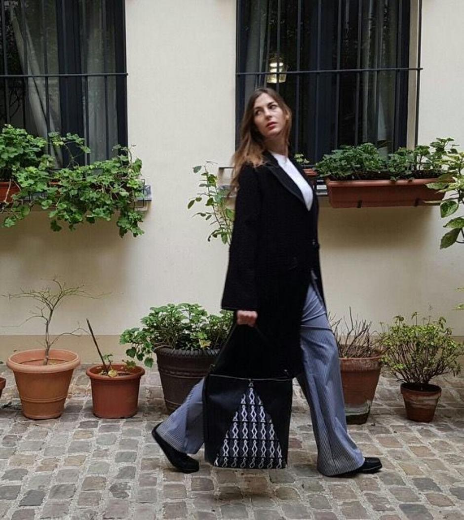 Las bolsas están hechas con textiles creados por la fundadora Silvia Guerra, elaborados por artesanas guatemaltecas. (Foto: 'Is Bags)