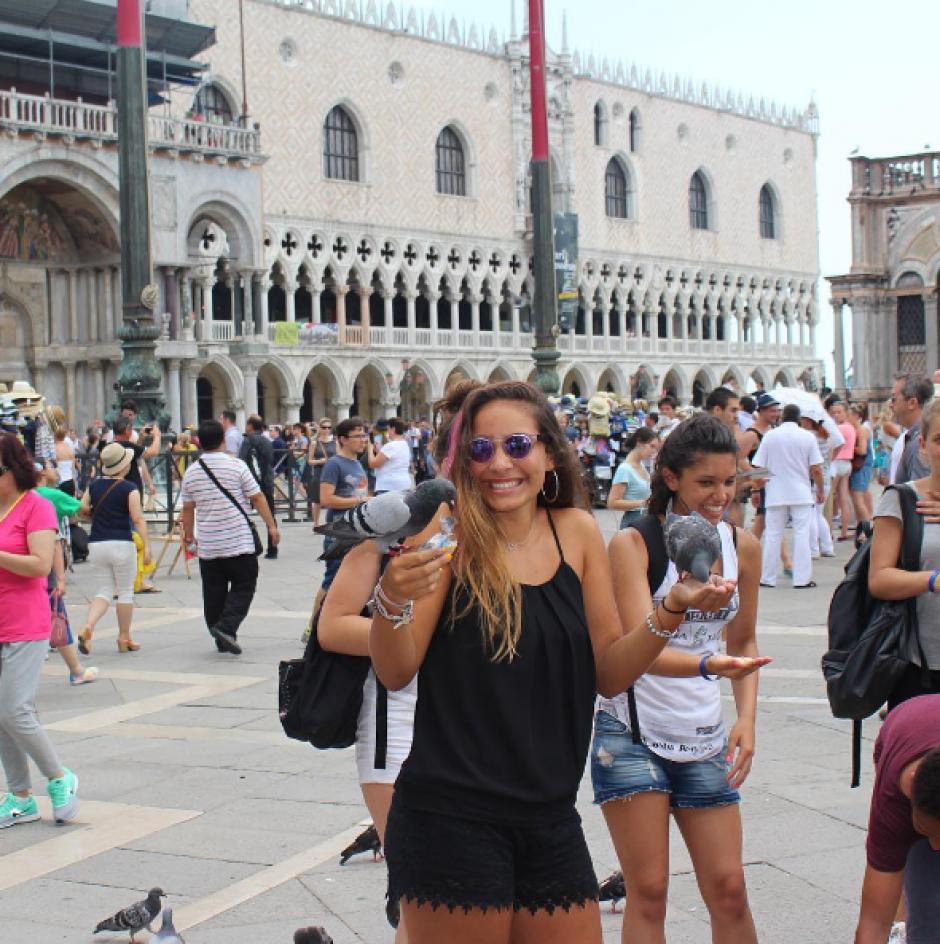 En la red social Instagram, la hija de Chayanne comparte casi todos sus viajes. (Foto: Instagram)