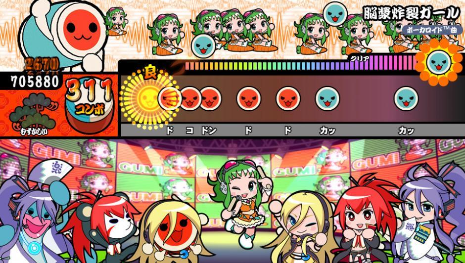 Taiko no Tatsujin es la versión japonesa de Taiko Drum Master. (Imagen: edjuegos.com)