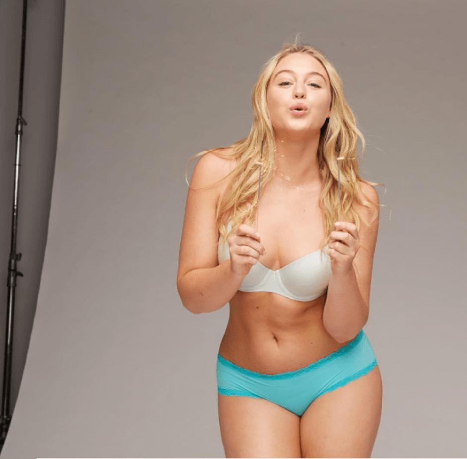 Iskra Lawrence ha sobresalido en el mundo del modelaje. (Foto: iskra/Instagram)