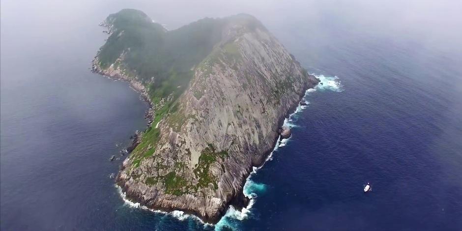 Esta es la Isla de las Serpientes, en Brasil. (Foto: Nationa Geographic)