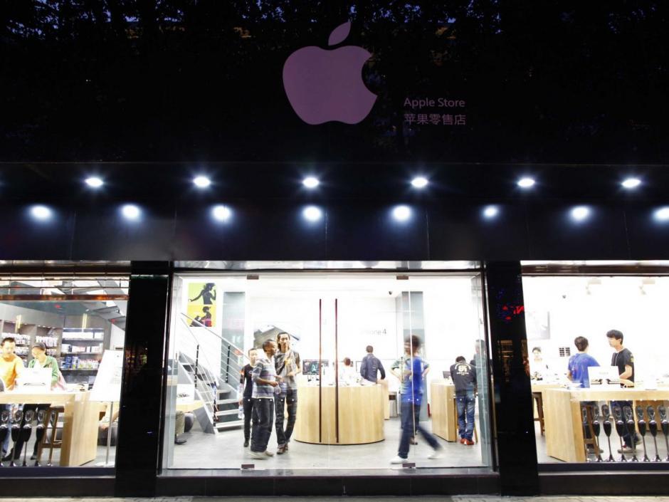 Esta es una imitación de toda una tienda Apple completa. (Foto: businessinsider.com)