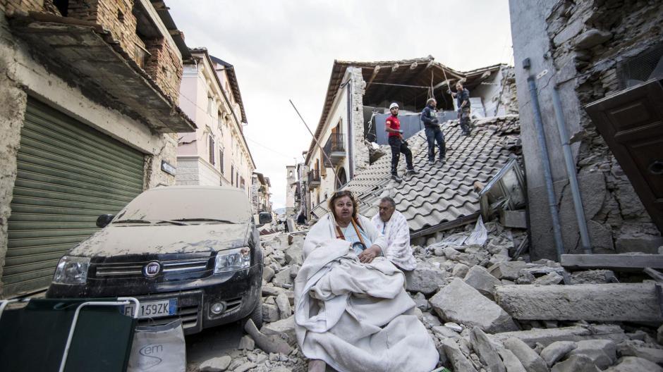 Al menos 62 personas murieron por un terremoto de 6 grados en Italia. (Foto: www.infobae.com)