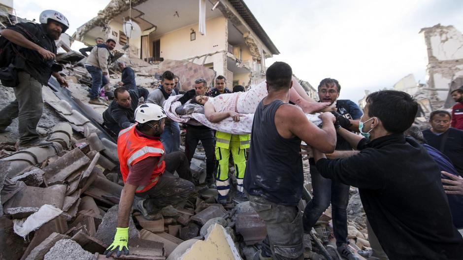 El epicentro del movimiento sísmico se produjo en la población de Accumoli. (Foto: www.infobae.com)