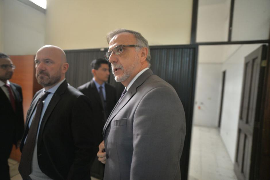 El Jefe de la CICIG acudió este lunes al Congreso. (Foto: Wilder López/Soy502)
