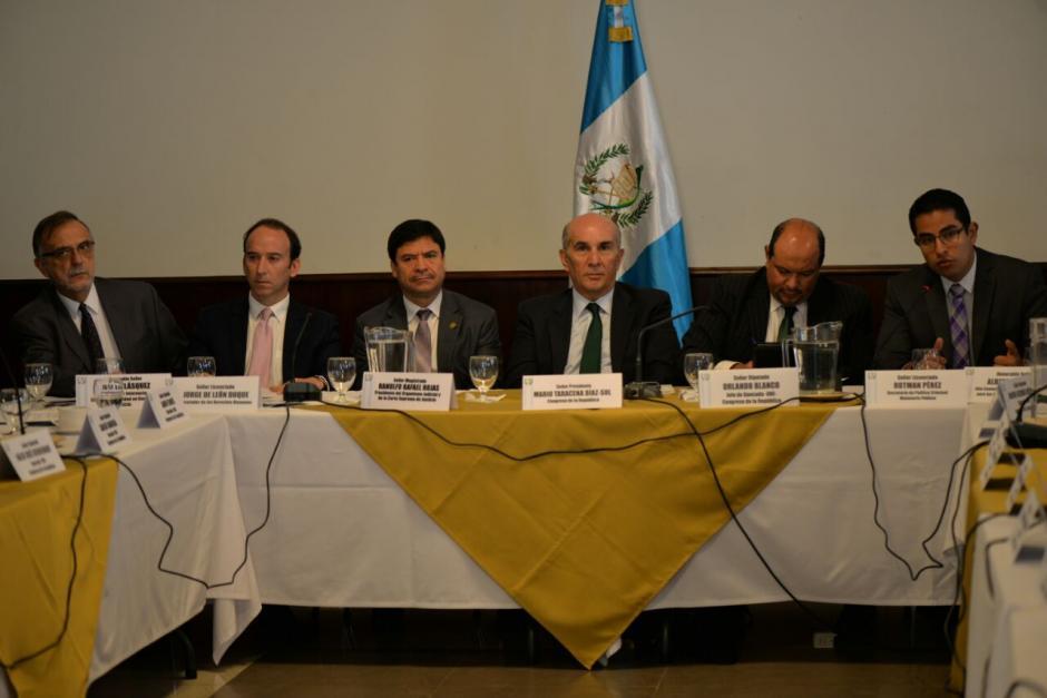 La UNE fue la primera bancada en discutir la propuesta. (Foto: Wilder López/Soy502)