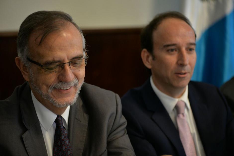 El jefe de la CICIG se presentó al Congreso para reunirse con los diputados de la UNE. (Foto: Wilder López/Soy502)