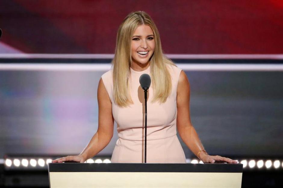La hija del candidato republicano a la presidencia, Donald Trump, Ivanka ofreció su discurso. (Foto: Efe)