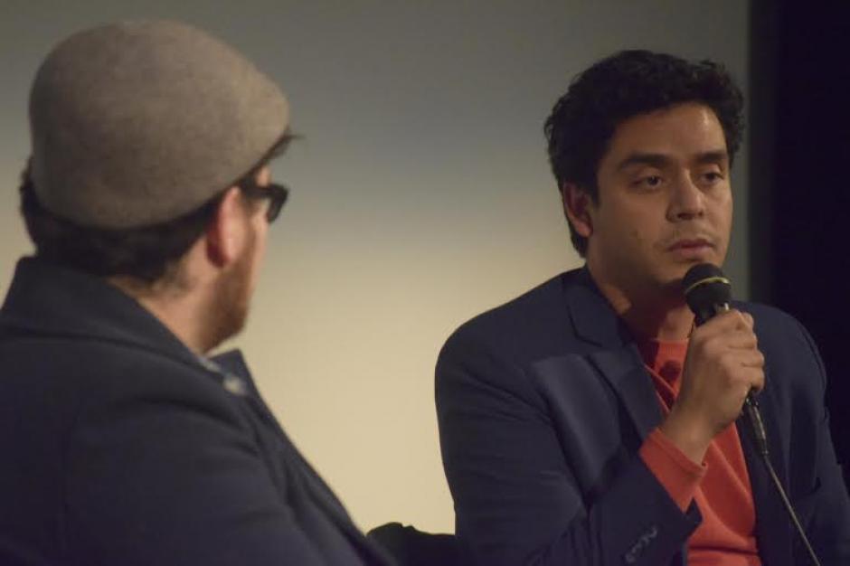 Jayro Bustamente presentó la cinta Ixcanul a miembros de la Academia de cara a la nominación de los Oscar. (Foto: Maynor Ventura)