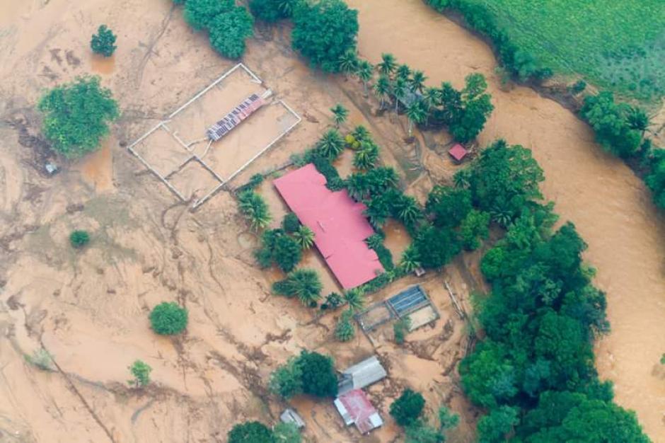 Las autoridades reportaron más de mil 250 afectados. (Foto: Conap)