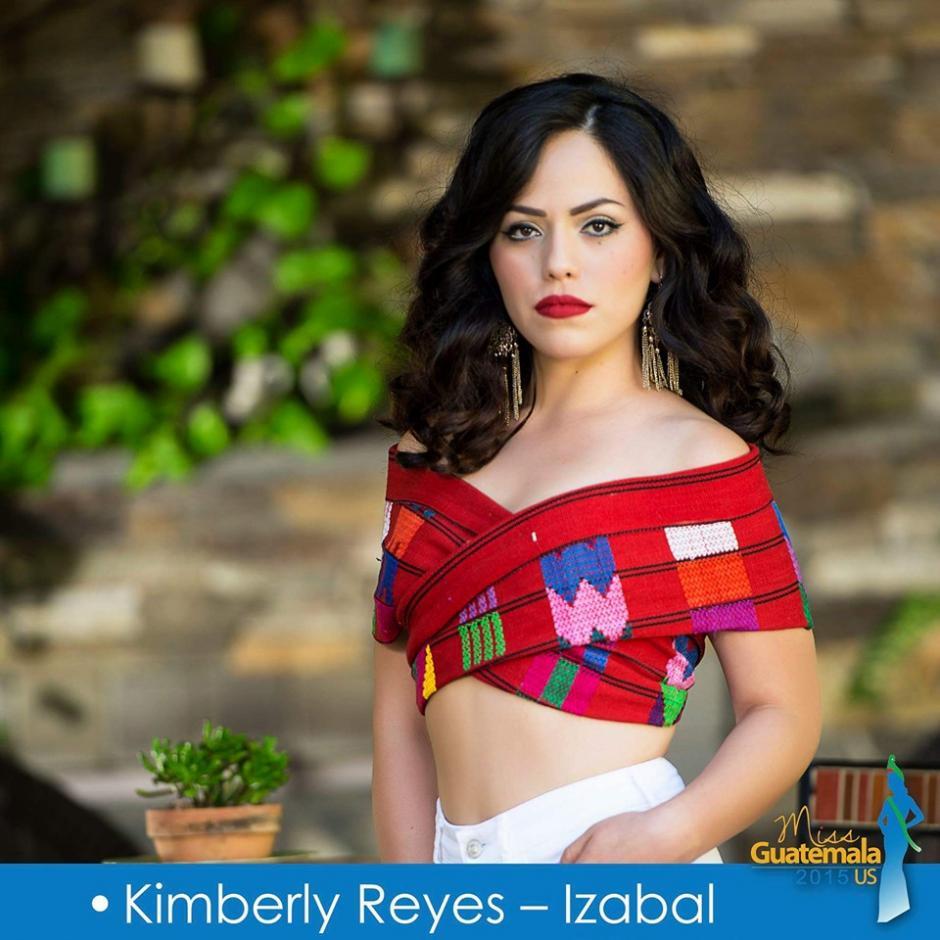 Kimberly Reyes representa a Izabal. (Foto: Miss Guatemala US)